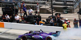 Grosjean, Herta Lead Double Podium Result for Honda during Brickyard Weekend