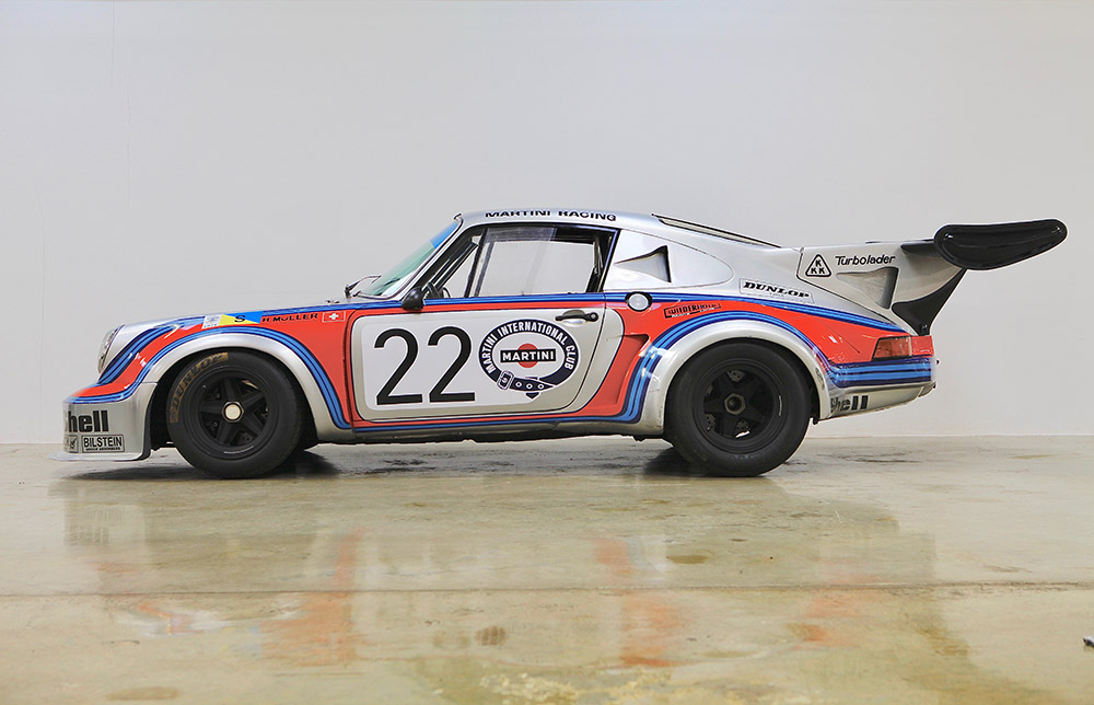 Gulf and Martini Racing Liveries at Concours of Elegance