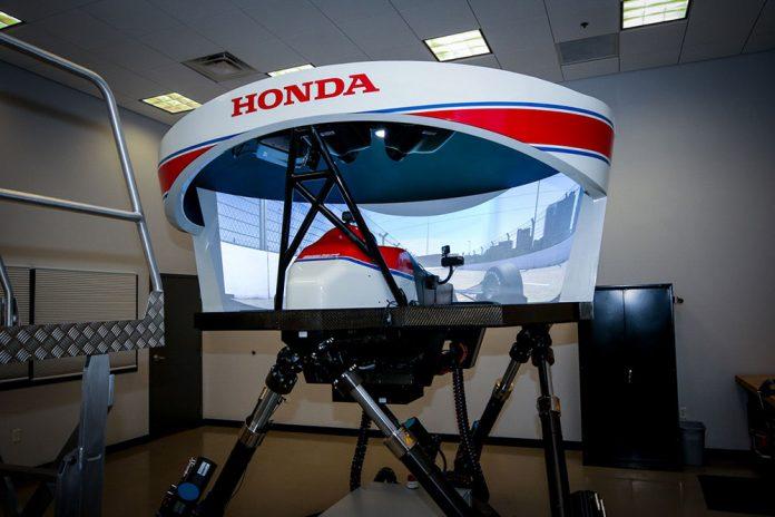 Honda IndyCar Drivers Use HPD Simulator to Prepare for Nashville Race