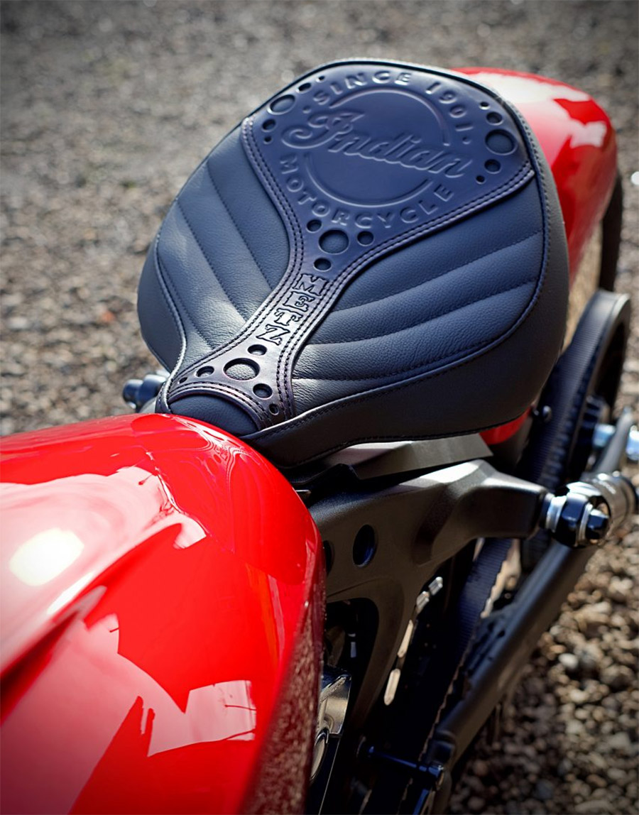 Indian Scout Customs from Indian Motorcycle Metz