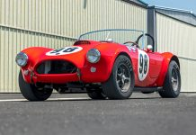 Ken Miles 1963 Shelby 289 Cobra Works RM Sotheby's Monterey Auction