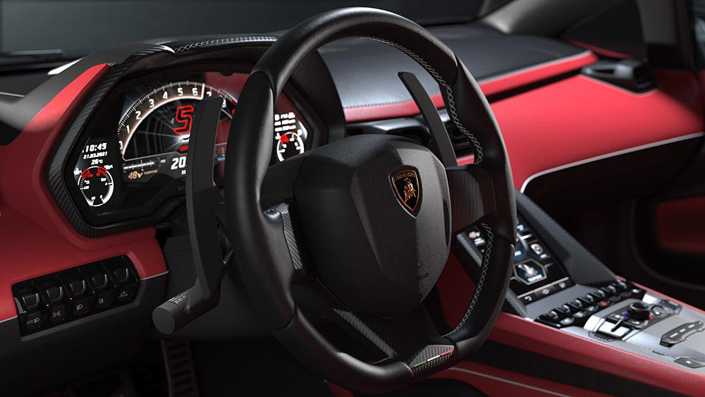 Lamborghini Countach LPI 800-4 Hybrid 50th Anniversary Edition