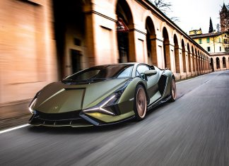 Lamborghini Sián Pays Homage to the Porticoes of Bologna