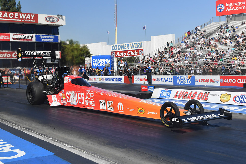 Mopar and Dodge//SRT Double-Up with HEMI®-powered Victories by Pruett and Capps at Rescheduled NHRA Winternationals