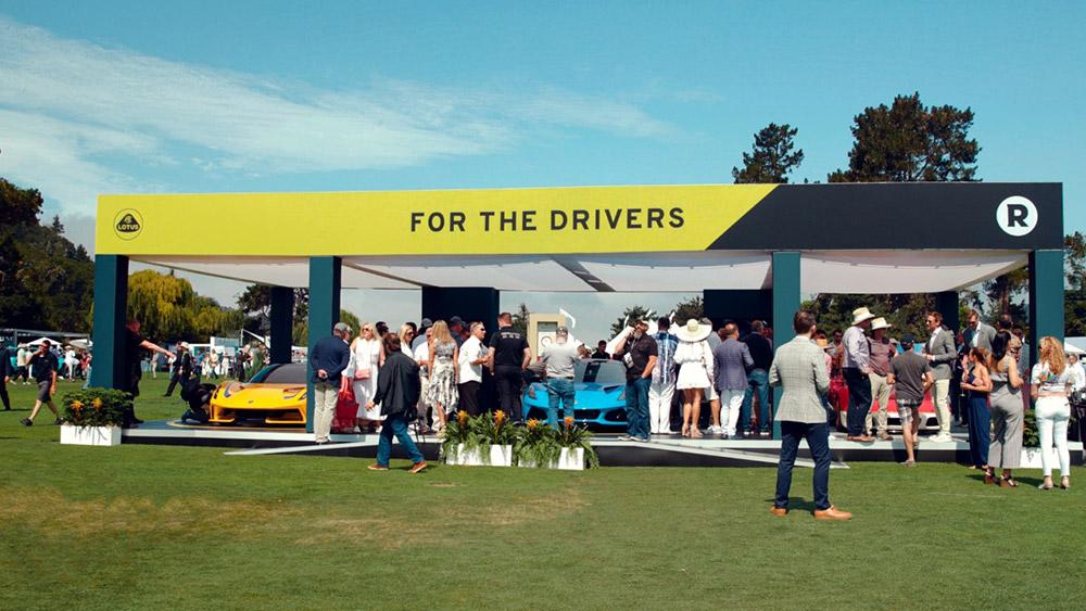 Lotus at The Quail during Monterey Car Week