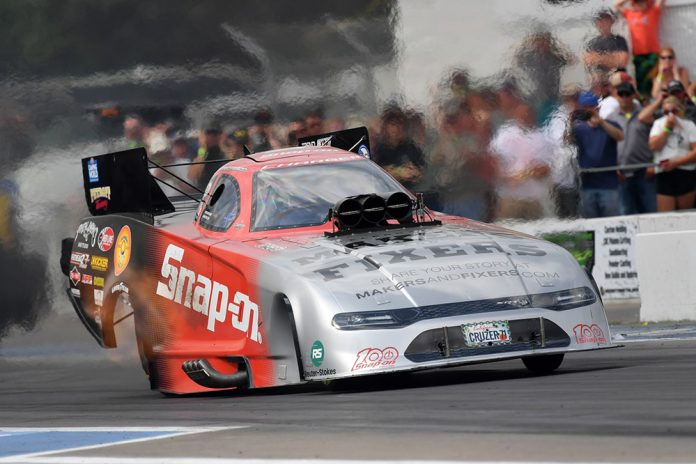 Matt Hagen Dadge Charger SRT Hellcat Funny Car Wins NHRA Brainerd