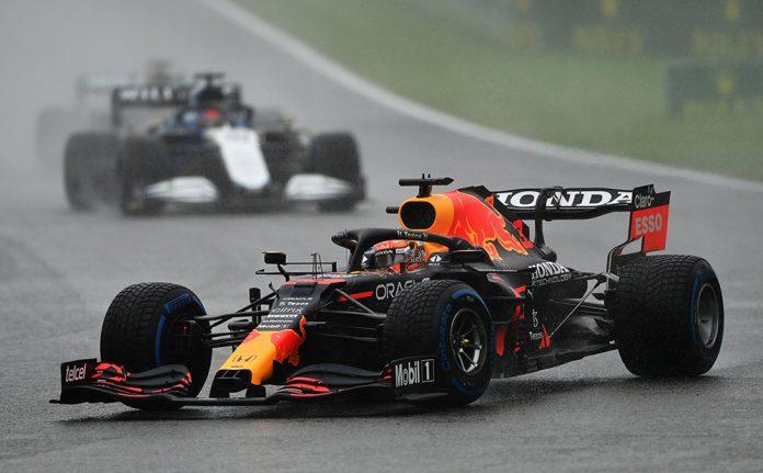 Max Verstappen Wins Rain-Shortened Belgium GP