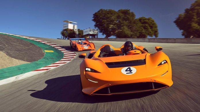 McLaren Beverly Hills Elva Heritage Video