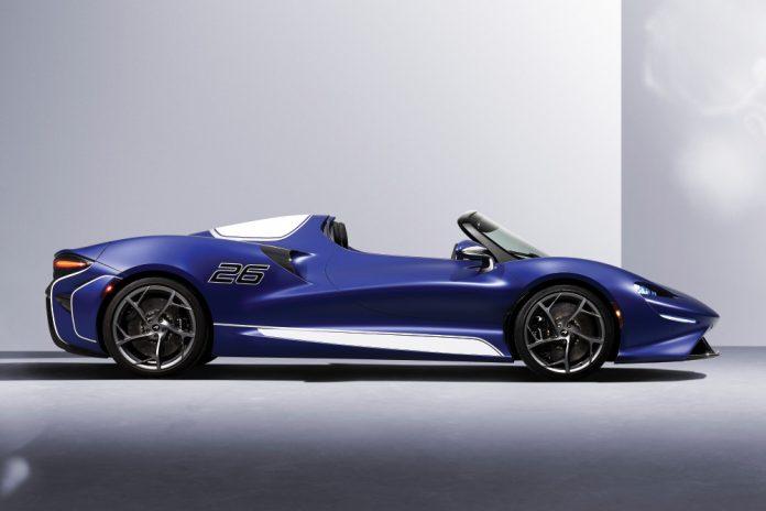 McLaren Elva, Artura and 765LT Spider Salon prive Debut