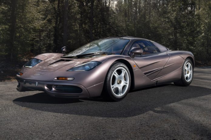 McLaren F1 road car sets record price at Gooding & Company Monterey auction
