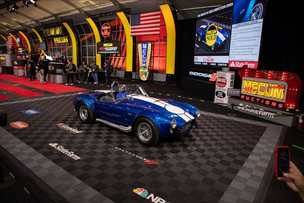 Mecum Auctions Most Successful Daytime Auction Ever