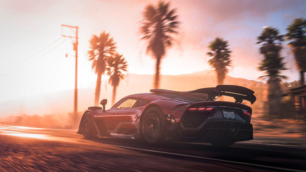 Mercedes-AMG Project ONE Forza Horizon 5 Video Game