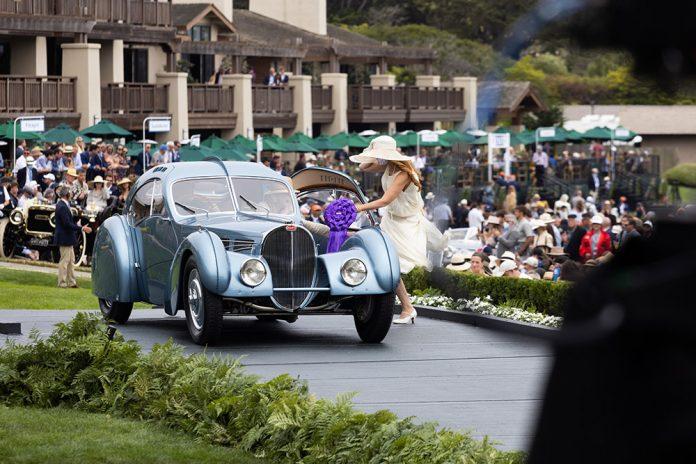 "Mullin Automotive Museum's 1936 Bugatti Type 57SC Atlantic Wins ""J.B. & Dorothy Nethercutt Most Elegant Closed Car"" at Pebble Beach Concours d'Elegance"