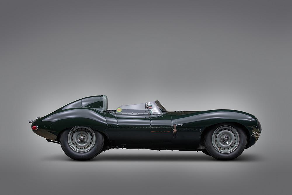 Paul Andrews Estate Collection 1955 Jaguar D-Type at RM Sotheby's Monterey Auction