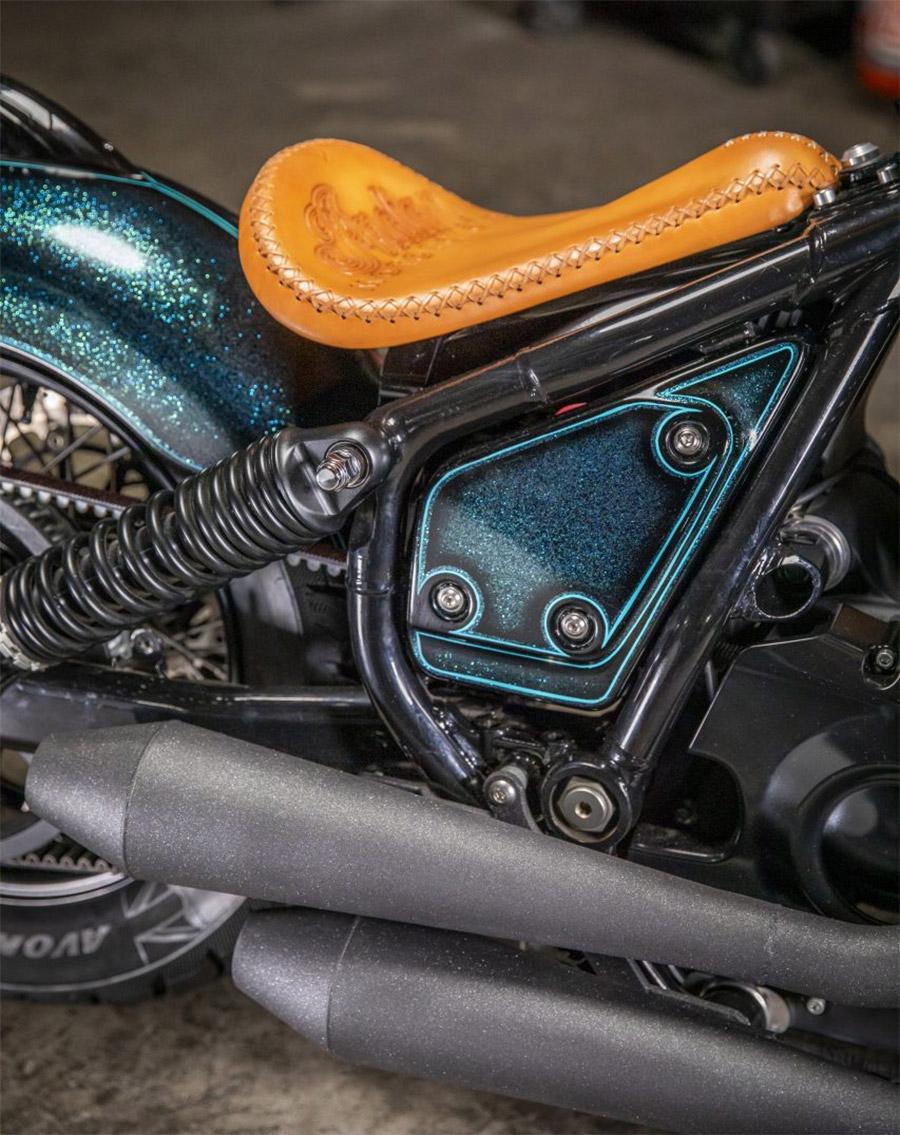 Indian Motorcycle Chief Custom By Paul Cox & Keino Sasaki