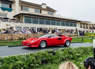 Pebble Beach Concours d'Elegance 2021 Lamborghini Countach Celebration