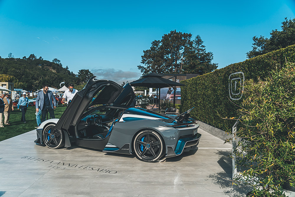 Pininfarina Battista Monterey Car Week Program