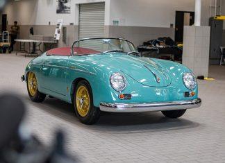 Porsche Santa Clarita Galpin 1955 Porsche 356 Speedster