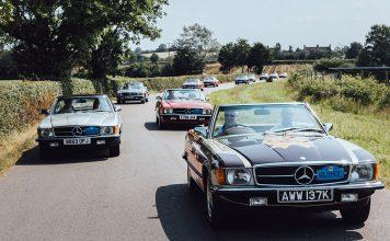 SLSHOP Event Hosts the Largest Congregation of Mercedes-Benz R107 SLs