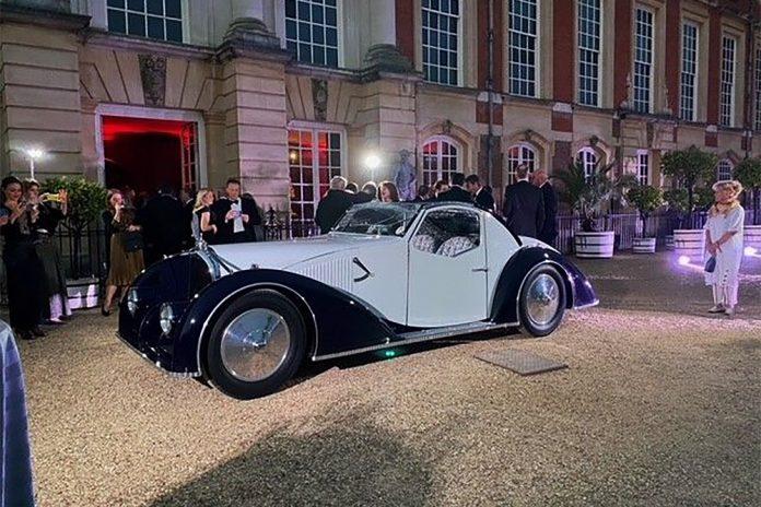 The Mullin Automotive Museum's Coachbuilt 1934 Voisin C27 Aerosport Coupe Wins Best of Show Award at Hampton Court Concours of Elegance