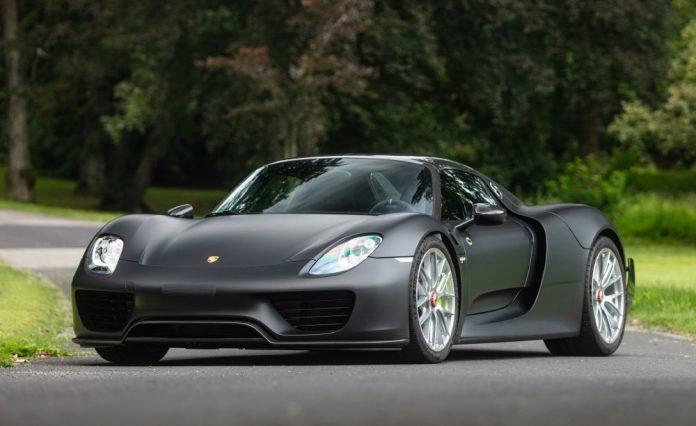 2015 Porsche 918 'Weissach' Spyder Offered at RM Sotheby's St. Moritz Auction