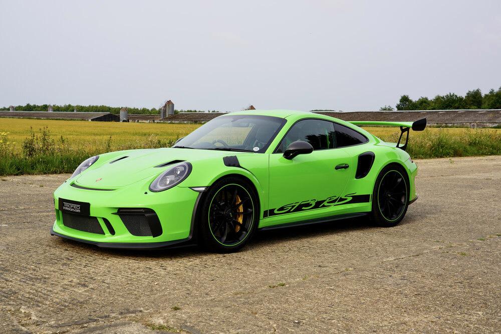 2018 Lizard Green Porsche GT3 RS For Sale