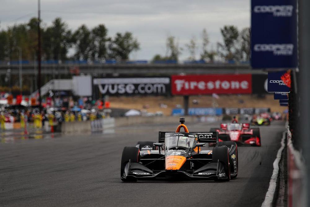 Alex Palou Wins Portland GP Indycar Race