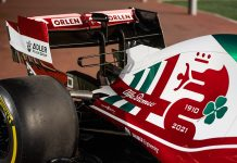 Alfa Romeo ORLAN F1 Team Italian Flag Livery Monza Grand Prix