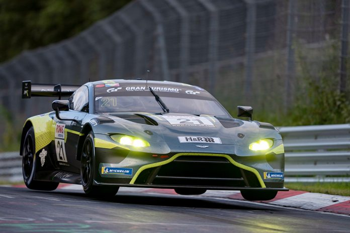 Aston Martin overall victory on the Nurburging Nordschleife