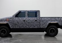 ATLIS XT electric pickup prototype