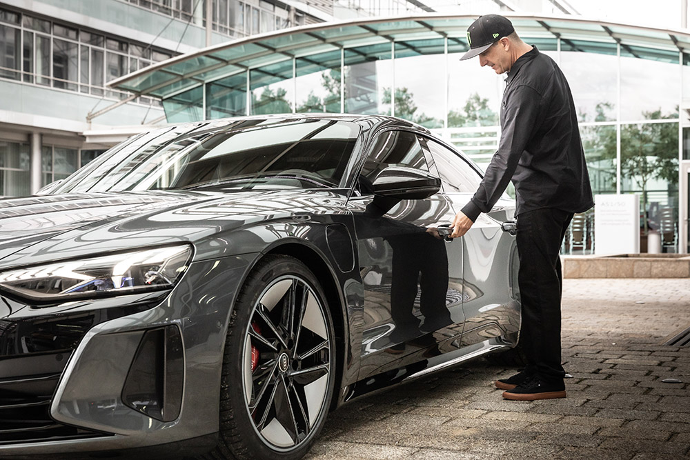 Audi and Ken Block Electric Mobility Collaboration
