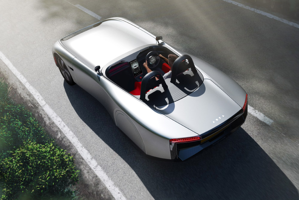 AURA Lightweight British Two-Seater Electric Sports Car