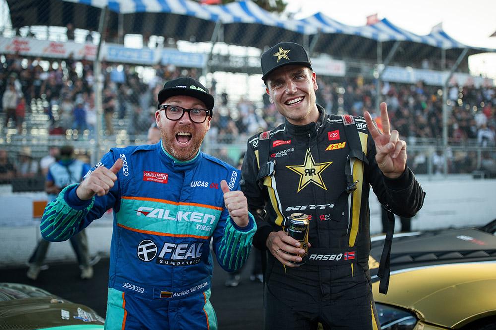 Bakchis Wins Dramatic Formula DRIFT PRO Round 7 on Streets of Long Beach