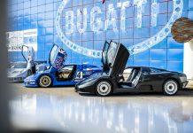 Bugatti EB 110 Super Sports Car 30 Year Anniversary