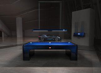 Bugatti IXO Pool Table Ready for Delivery