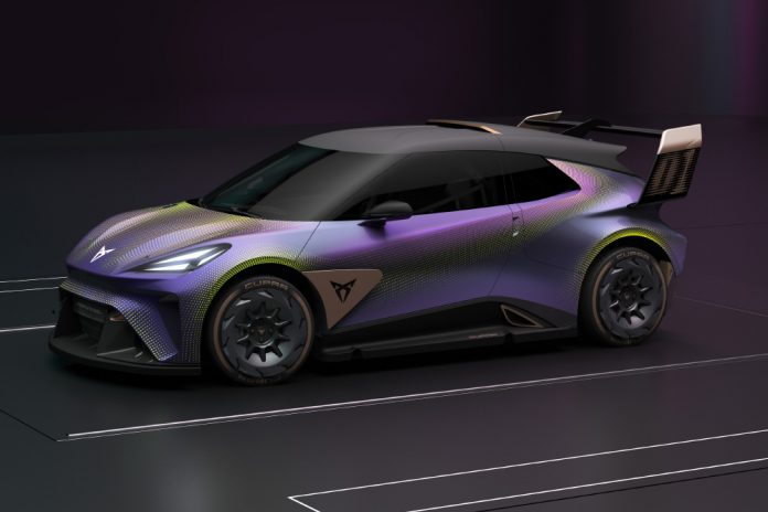 CUPRA UrbanRebel Urban Electric Car Concept