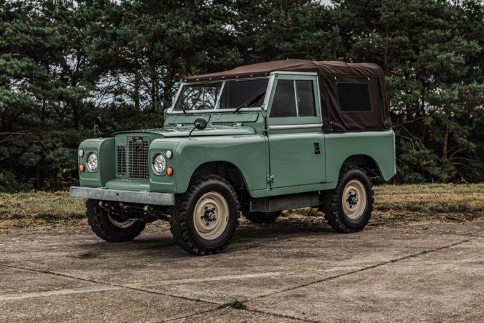 Everrati electric Land Rover Series IIA