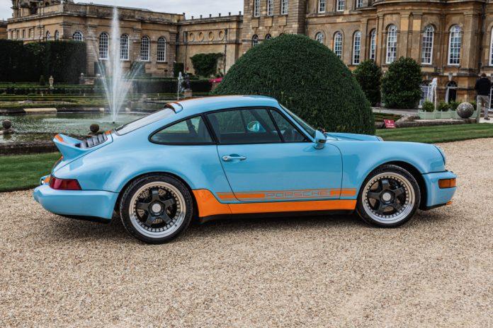 Everrati electric Porsche Gulf Signature Edition at Salon Privé