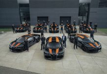 The first eight Bugatti Chiron Super Sport 300+ of just 30 units are now ready for delivery.