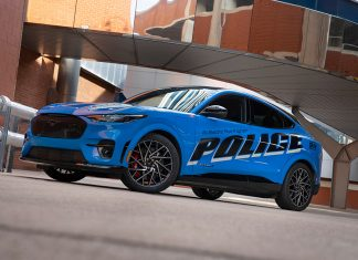 Ford Mustang Mach-E Police Pursuit Vehicle
