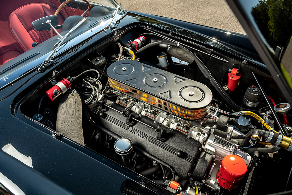 GTO Engineering California Spyder Goodwood Revival Debut
