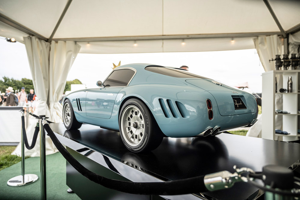 GTO Engineering Half-Scale Squalo at Goodwood Revival