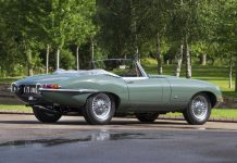 Jaguar E-type at 2021 Concours of Elegance