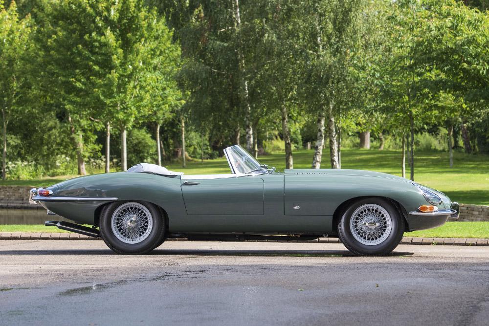 Jaguar E-type at Concours of Elegance