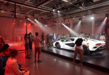Lamborghini Countach LPI 800-4 at Milan Design Week