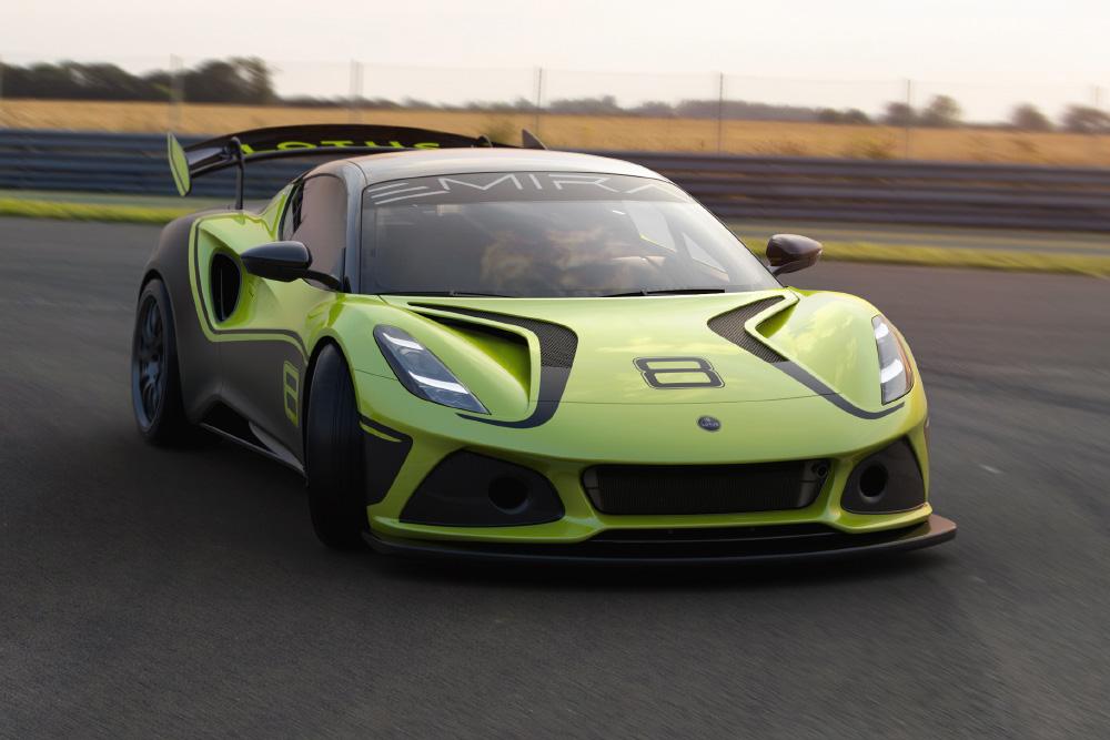 Lotus Emira GT4 Race Car Revealed