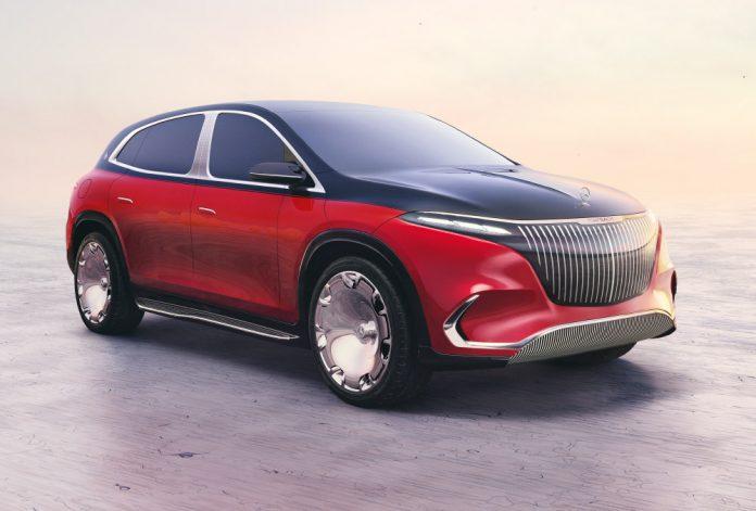 Mercedes Maybach EQS Electric SUV