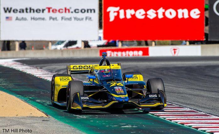 NTT INDYCAR SERIES Renews Multiyear Agreement with WeatherTech Raceway Laguna Seca