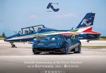 Pagani Automobili Frecce Tricolori Official Sponsor