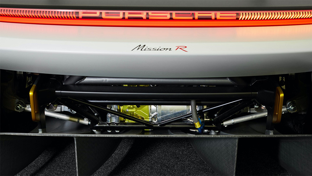 Porsche Mission R Electric Motor Drivtrain